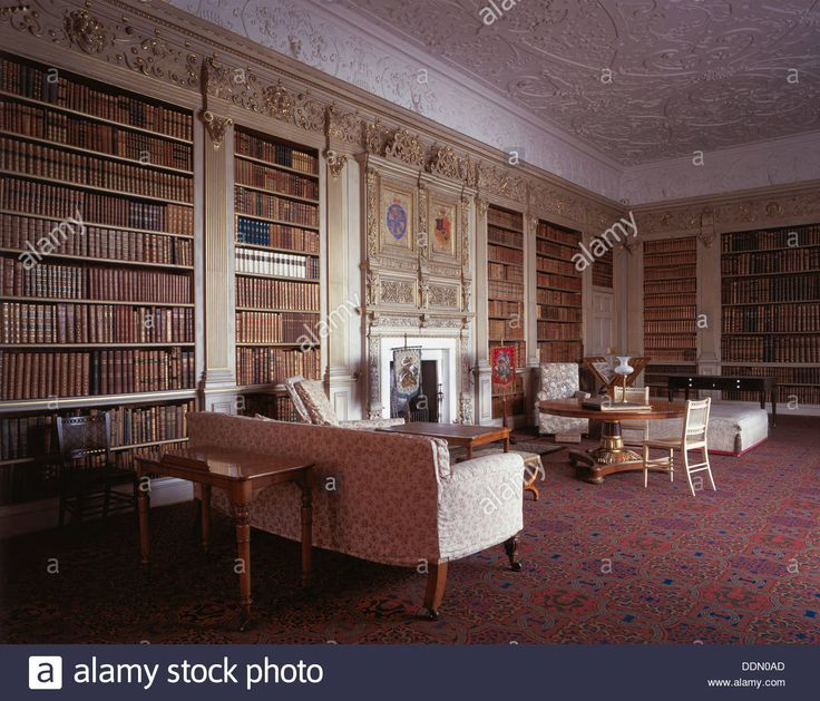 The House Was One Of Grandest Jacobean Houses In England Built Between 1605 And Larger Library Commands A Splendid View