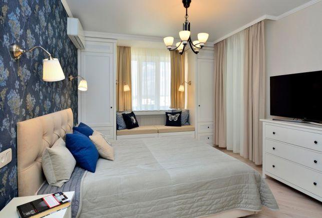 Apartament de 2 camere decorat cu accente placute de albastru - imaginea 12