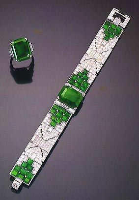 Cartier Art Deco, too pretty for words