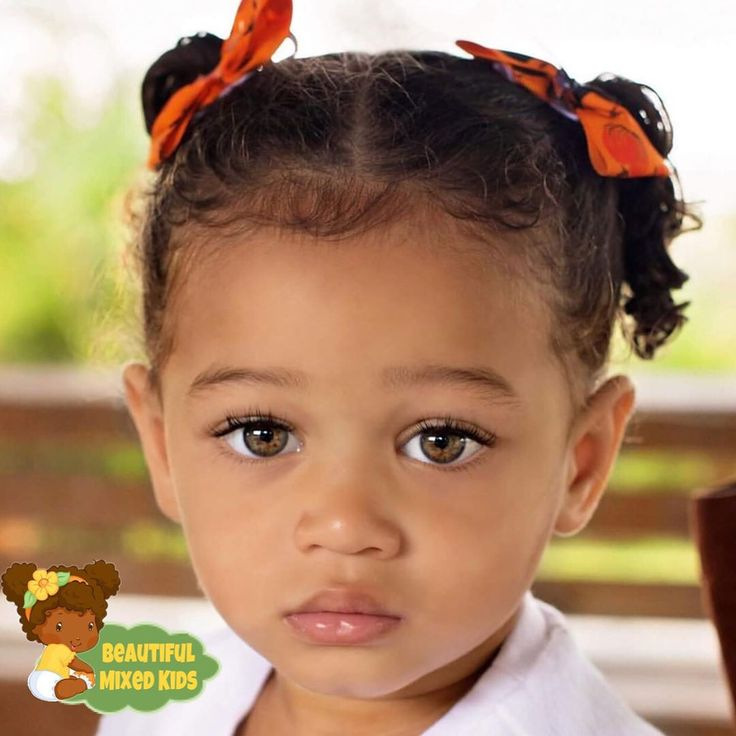 Journee Lillian – 2 ans • Afro-américaine et caucasienne ❤️ Beau bébé …   – Look Babe, our kids might look like this