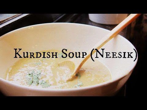Kurdish Soup (Shorbay Neesik) - YouTube