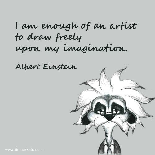Albert Einstein's imagination