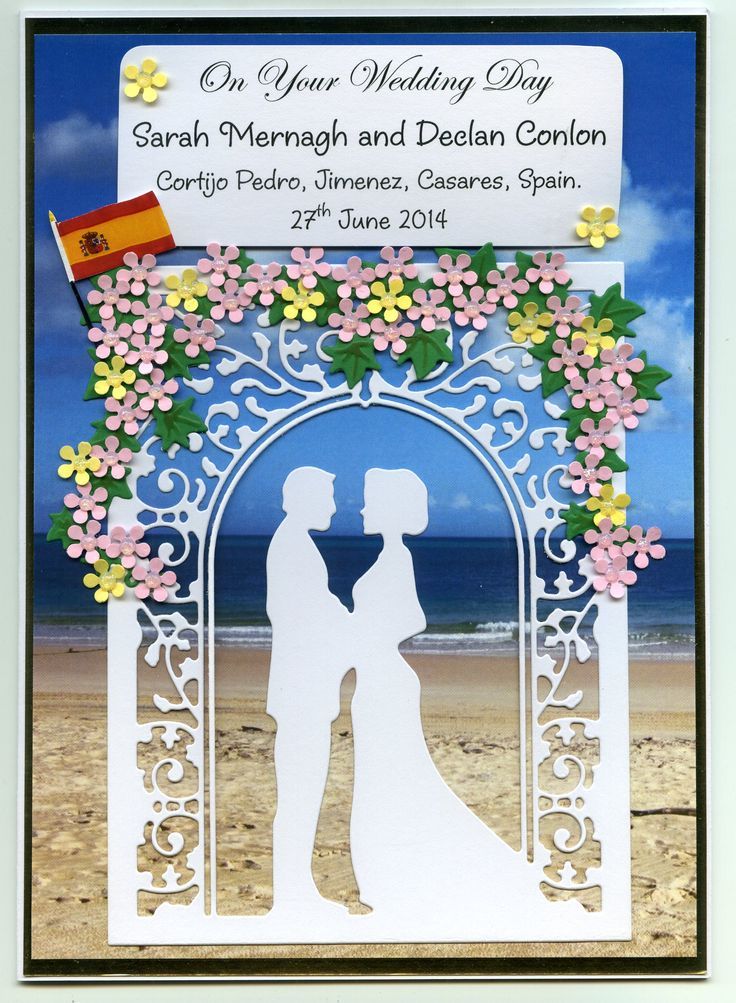 ***Wedding*** Personalised Handmade Cards By Marie Duggan (086)8102888. Please contact me on Facebook or ring me for more information.