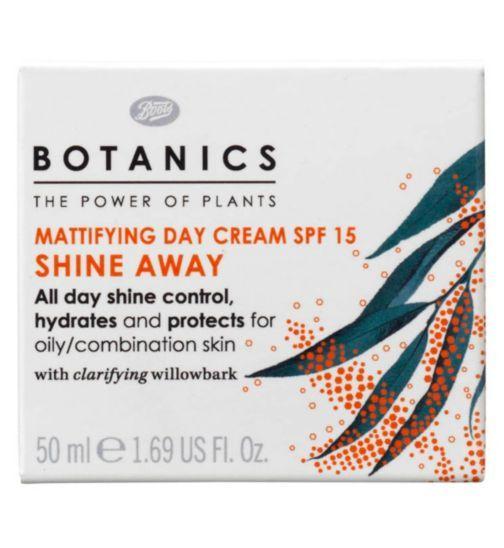Botanics Shine Away Mattifying Day Cream SPF15 50ml - Boots £4.99