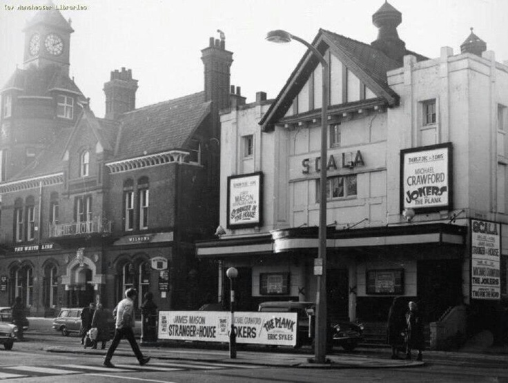 Remember watching E.T here many moons ago. Withington Movie Theatre aka Scala Picture House and Cine City. Demolished to nothing ness...:(