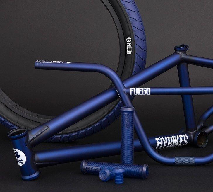 Flybikes - 2017 Dark Blue Fuego Colorway