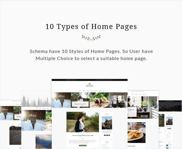 Schema Elegant Responsive WordPress Blog
