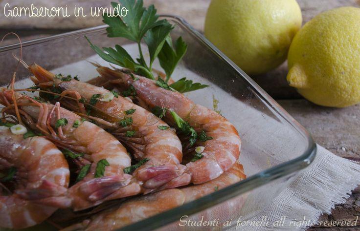 gamberoni in umido al forno ricetta secondo di pesce facile e veloce