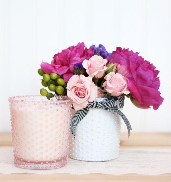 DIY Beaded Glass Gifts | Damask Love Blog