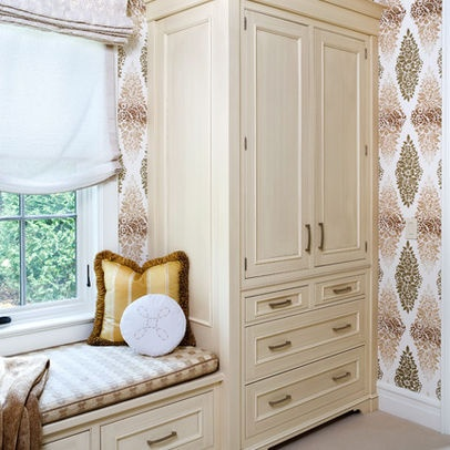 19 best images about Cabinet storage and window seat wall ...
