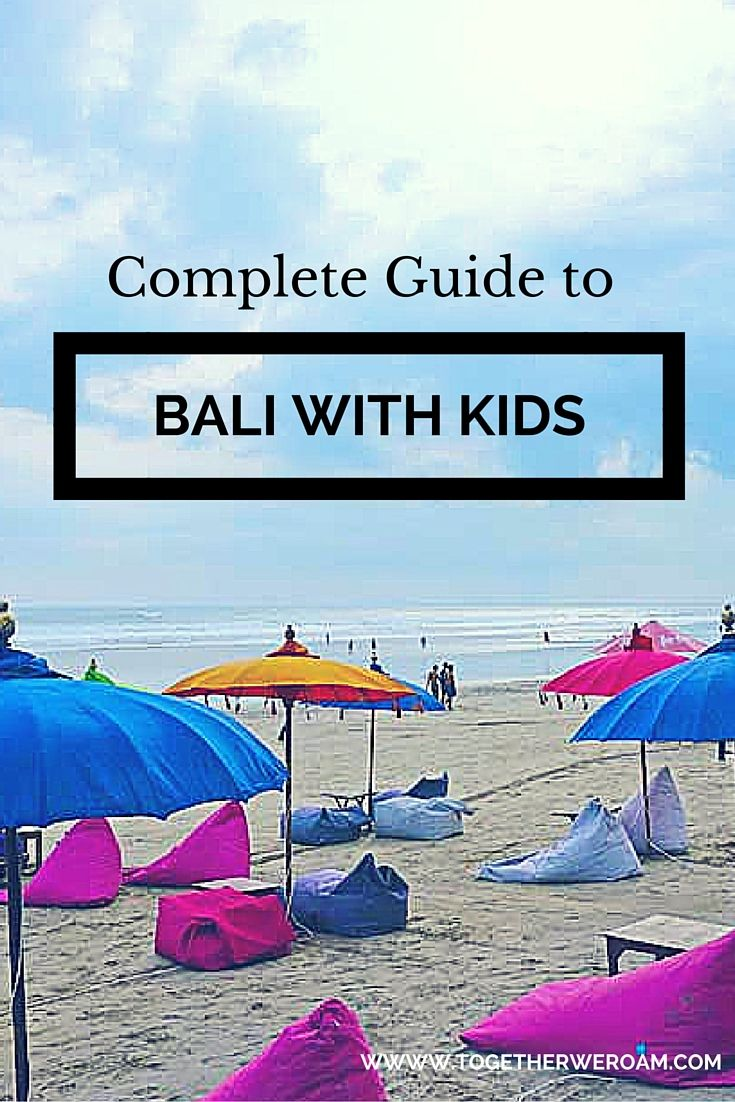 Complete guide to Bali with Kids. Everything you need to know from Family Accommodation Bali, Bali hotels and resorts, where to stay in Bali, things to do with kids in Bali, what to pack, where to go, getting around in Bali, nannies in Bali and places to eat in Bali with kids.
