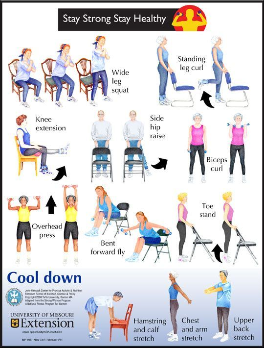 Printable Chair Exercises For Seniors   Bing Images Amazing Ideas