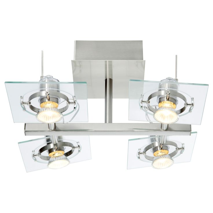 FUGA Ceiling spotlight with 4 spots - IKEA- oh my these would look cool in my kitchen...