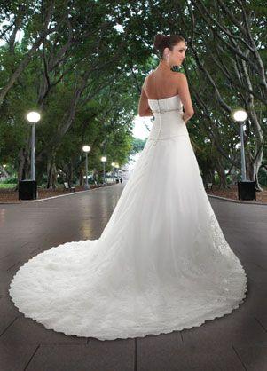 DaVinci Bridals Wedding Dress Style 8404   House of Brides