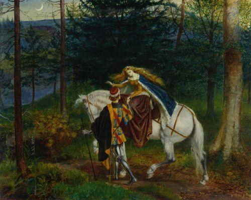 Walter Crane (1865)La Belle Dame Sans Merci 1865