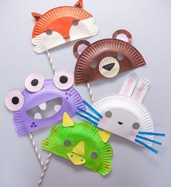 Sección de ideas y Manualidades infantiles para los niños. Manualidades fáciles y originales para hacer con los niños.