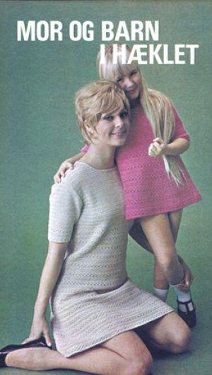 Mor og barn i hæklet   Familie Journal
