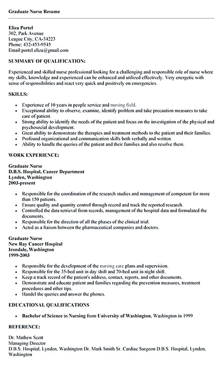 nurse resume is what you really want when you are going to