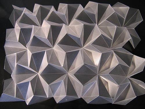 folded frosted polypropylene 200 micron by polyscene, via Flickr