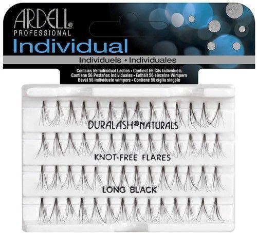 e06328c4469 Ardell Duralash Eyelash Set with 56 Individual Lashes, Flare Long, Black