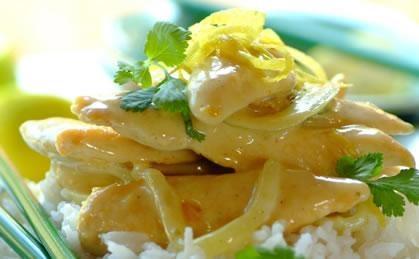 Quick, easy Thai Chicken Curry