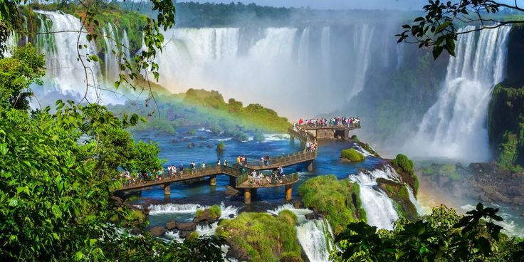 Iguazu Falls: Dazzling photos of the world's largest waterfall system