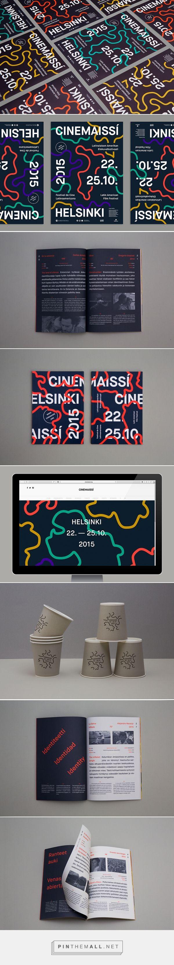 It's Nice That | Simple, adaptable Helsinki film festival identity by Pol Solsona - created via http://pinthemall.net