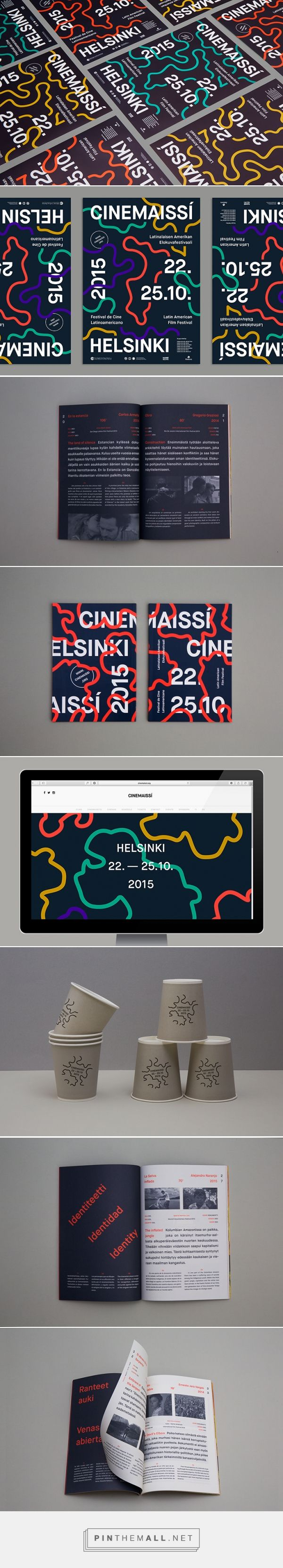 It's Nice That | Simple, adaptable Helsinki film festival identity by Pol Solsona - created via http://pinthemall.net