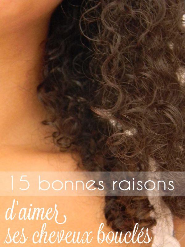 15 bonnes raisons d'aimer ses cheveux bouclés