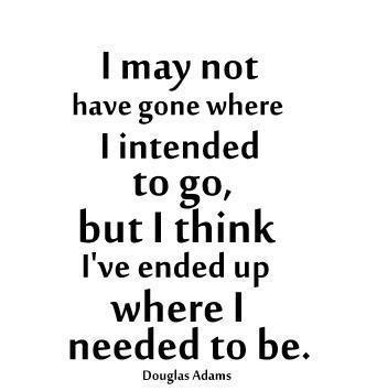 Douglas Adams quote