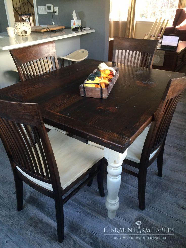 E. Braun Farm Tables and Reclaimed Barn Wood Furniture