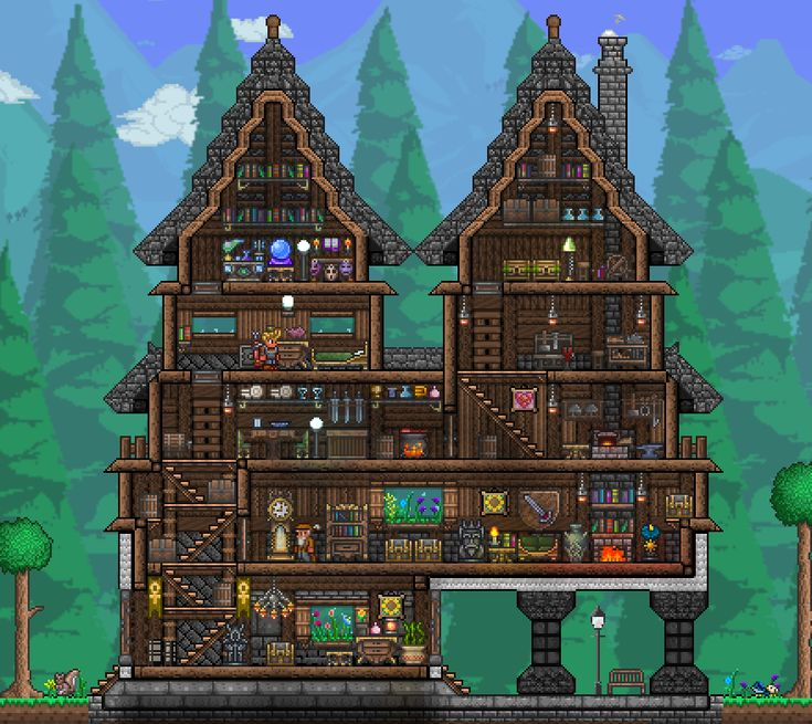 . 48 best Minecraft terraria houses images on Pinterest