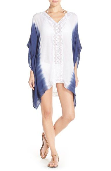 Green Dragon Lace Caftan Cover-Up available at #Nordstrom