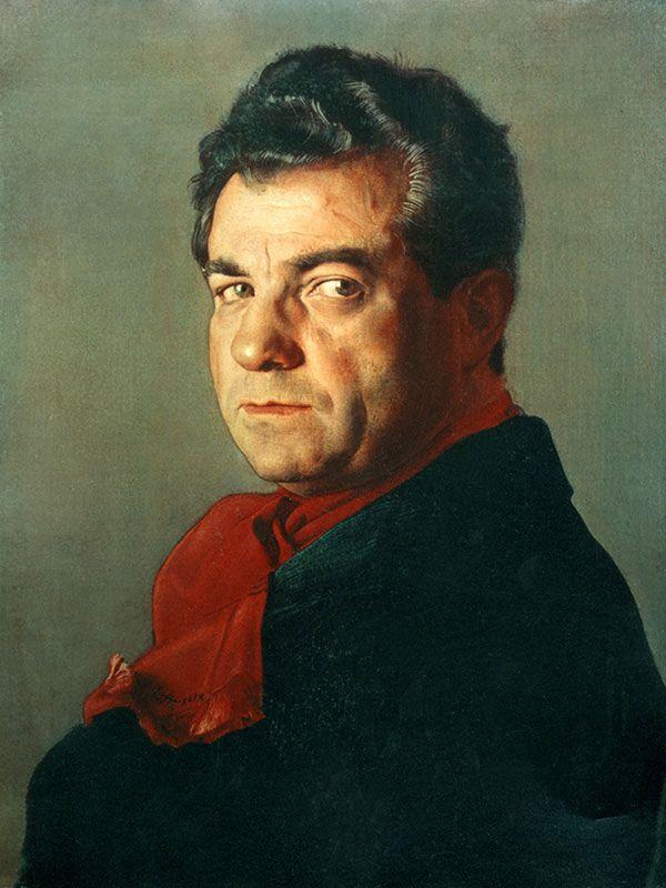 Pietro Annigoni - Ritratto di Salvatore Ferragamo - olio su tela - 1949 - Museo Salvatore Ferragamo - Firenze