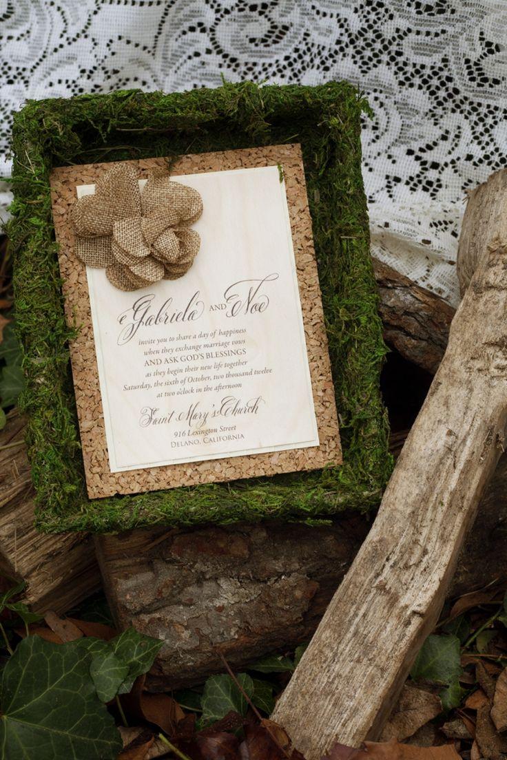 Nature Inspired Wedding Invitation Photo By Kait Winston Photography