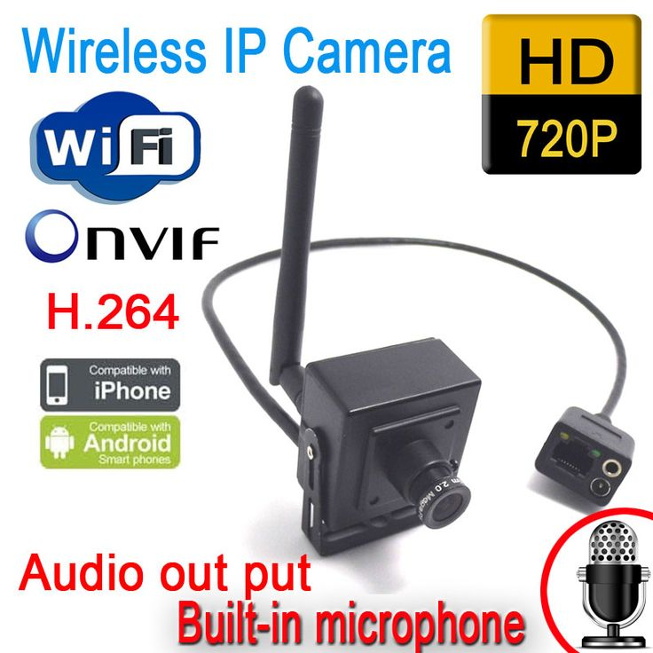 Freeshipping Hidden Wireless Ip Camera 720P HD Wifi