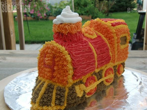 94 Best Train Birthday Cakes Images On Pinterest Petit