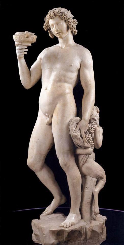 Michelangelo di Lodovico Buonarroti Simoni (1496-97) 'Baco'