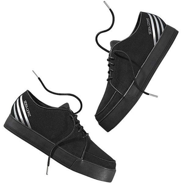 SG Creep ($70) ❤ liked on Polyvore featuring shoes, sneakers, zapatos, schuhe, retro sneakers, creeper platform shoes, adidas neo, retro platform shoes and platform trainers