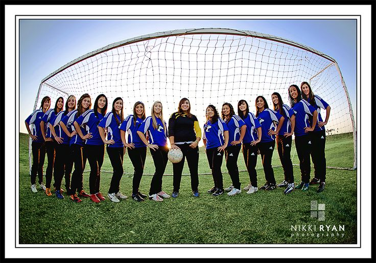Sports Team Photography Ideas | Here are the pictures the girls used for their team poster this year ...
