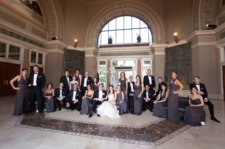 Liberty Grand large wedding party