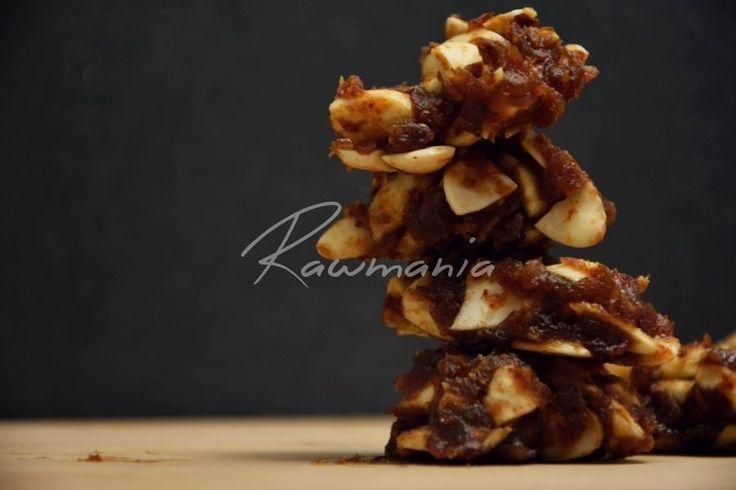 Raw mandlové sušenky