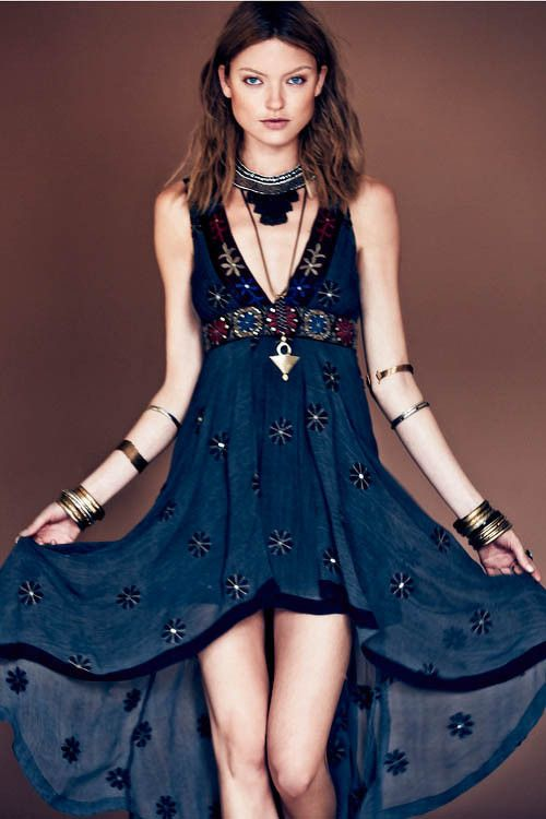 Free People Blue Dress from fashiongonerogue.com