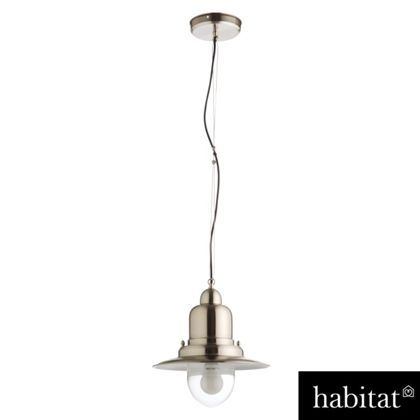 Habitat Fisherman Metal Pendant Light