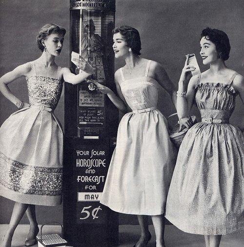 Торжество жизни: платья в стиле 50-х годов / Блог Perec / Гланж
