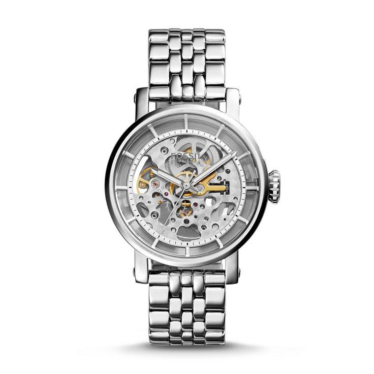 Fossil Original Boyfriend Automatic Stainless Steel Watch