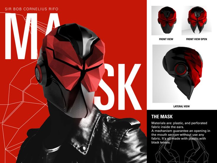 LowPoly Mask