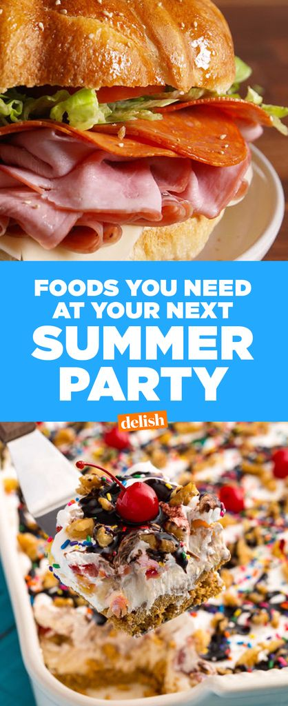The Best-Ever Foods For Block Parties  - Delish.com