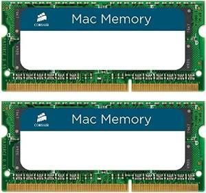 Slow MAC? Time to upgrade your RAM! Experience it with ‪#‎Corsair‬ ‪#‎Mac‬ or ‪#‎Apple‬ Certified 4GB X 2 - 1333Mhz ‪#‎DualChannel‬ ‪#‎DDR3‬ kit (CMSA8GX3M1A1600C11). Also, all the ‪#‎CMSA‬ models are available with Corsair. To know more Check out...!!!  Grab now @ Amazon : http://amzn.to/1Xa9MvP  ‪