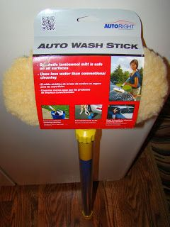 My Journey With Candida Blog: AutoRight Auto Wash Stick Review ~ This Isn't Your Run Of The Mill Auto Wash Stick GREAT gift idea for the man in your life